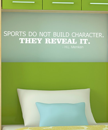 Belvedere Designs White 'Reveal It' Wall Quote by Wallquotes.com by Belvedere Designs on Zulily