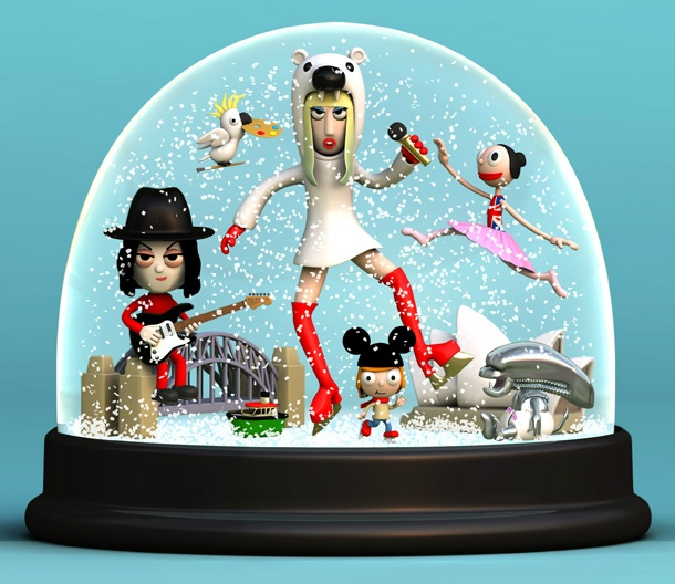 Lady GaGa and friends for Sydney Winter Festival