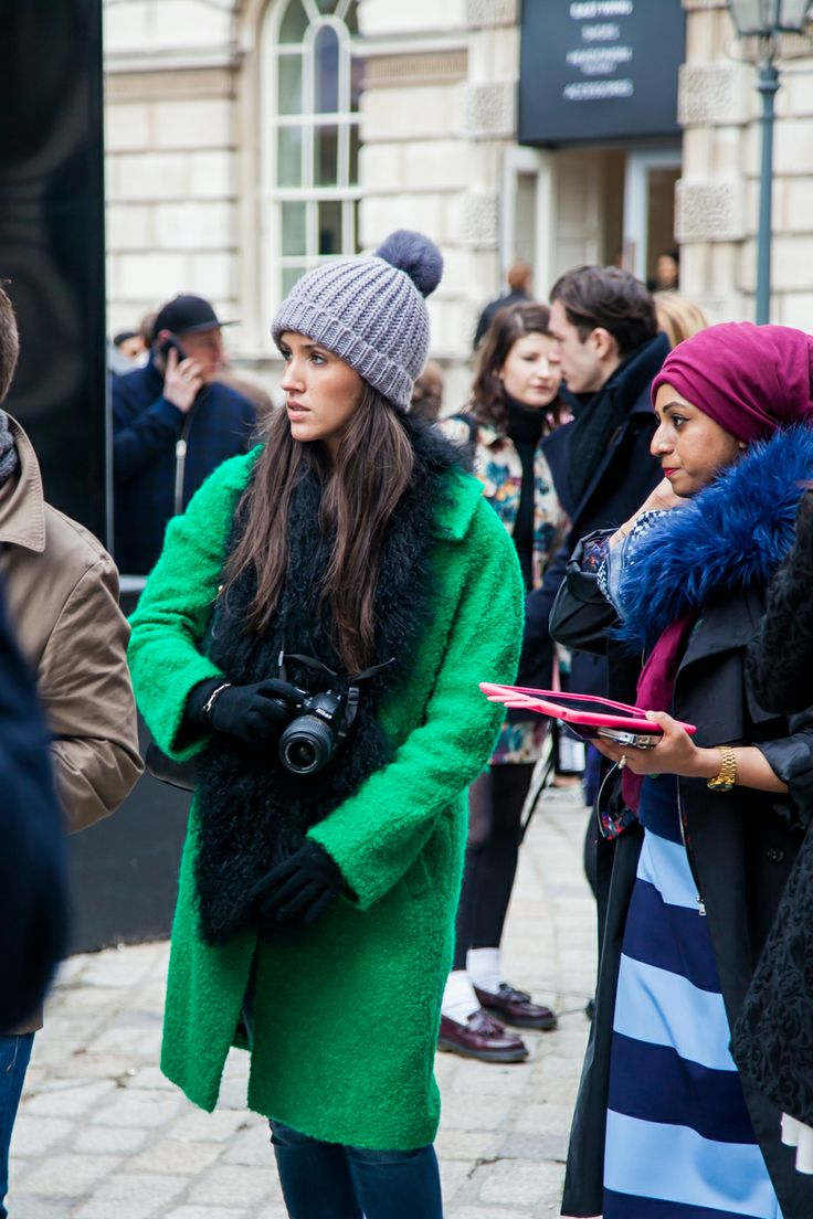 London Fashion Week AW14 Street Style Day 4
