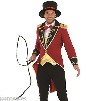 Deluxe mens ringmaster #adult #circus lion tamer tailcoat #fancy dress costume wh, View more on the LINK: http://www.zeppy.io/product/gb/2/191098429673/