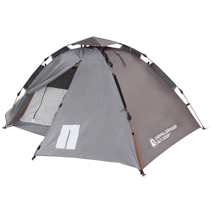 DOPPELGANGER OUTDOOR (ドッペルギャンガーアウトドア) 略してDOD。  簡単設営の2人用ワンタッチテント。登山・ツーリングにおすすめの重量1.9kgの軽量モデル。  #キャンプ #アウトドア #テント #タープ #チェア #テーブル #ランタン #寝袋 #グランピング #DIY #BBQ #DOD #ドッペルギャンガー