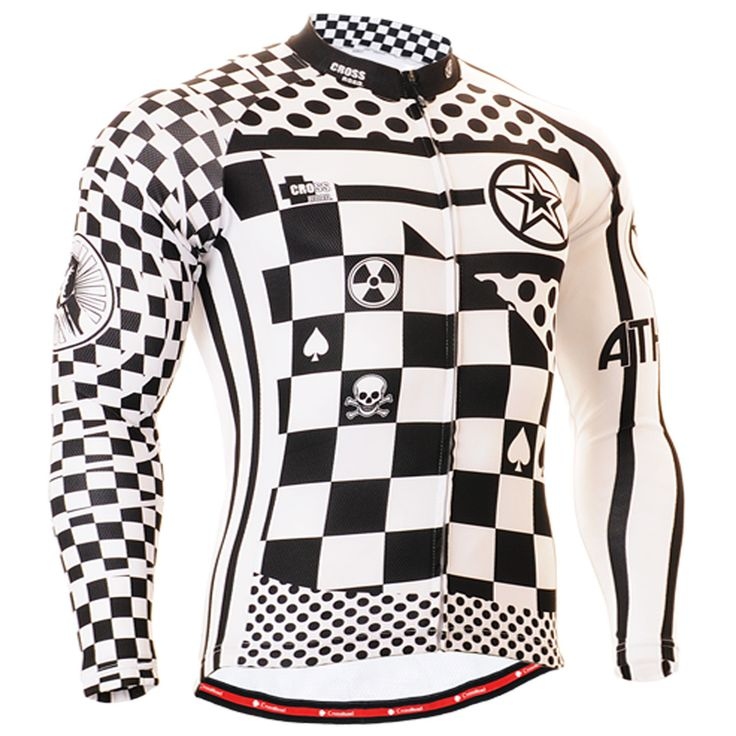 fixgear Mens cycling jersey - Cycling jerseys for winter warmth and biking in the cold.