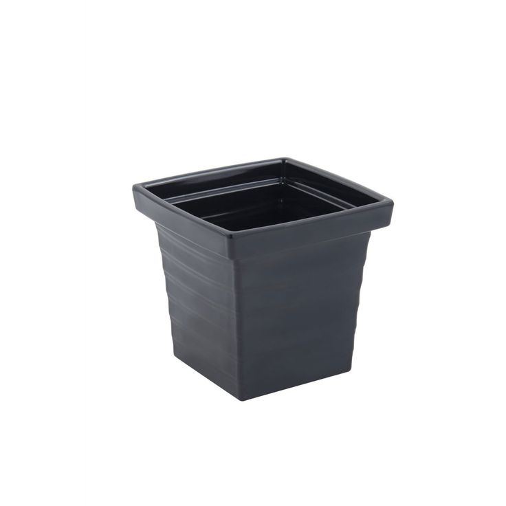 1 qt 24 oz 5 1/2 L x 5 1/2 W x 5 D inch Americana Square Bowl Black,rep case of 6 Tags:  Salad Bowl, Melamine, Stainless Steel Bowl,Square Bowl,Melamine Dinnerware,Stainless Steel Square Bowl, https://www.ktsupply.com/products/32802339284/1-qt-24-oz-5-12-L-x-5-12-W-x-5-D-inch-Americana-Square-Bowl-Black,-case-of-6.html