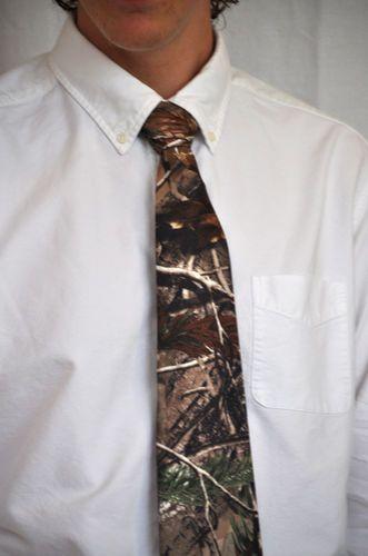 Mens Camouflage Ties Camo Ties Mossy Oak Realtree Camo Hunting Outdoors   eBay
