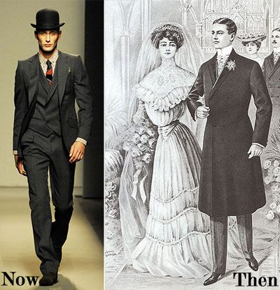 Ruffled® | Vintage Groom Suits  1910 fashion