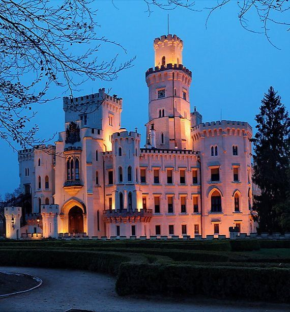 Hluboká Castle_It is one of the most beautiful castles in the Czech Republic | by the Silvie
