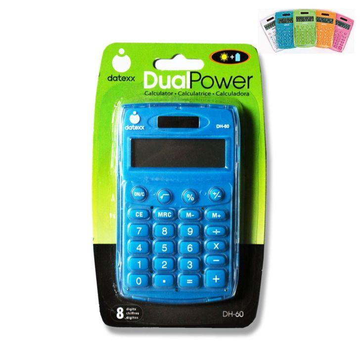 T1 - Datexx Handheld Calculator DH-60 - Assorted – School Depot NZ