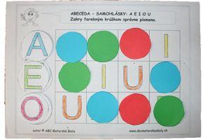 šablona písmena pre deti - Hľadať Googlom