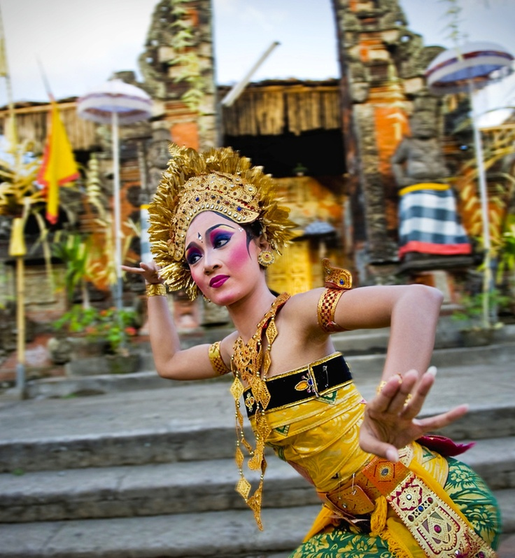 Experience the Indonesian culture. I love Bali. The dancers are so beautiful, every movement is so precise in eyes, hands & expression.
