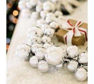 To Make: Silver Ornament Garland