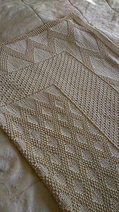 Ravelry: Eric's Blanket pattern by Auroraknit