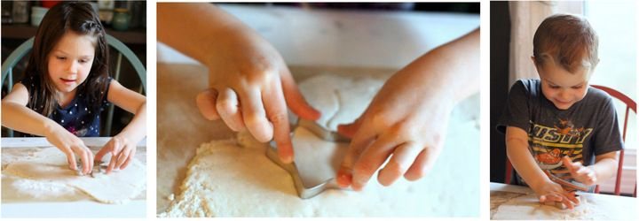 how to make salt dough ornaments recipe