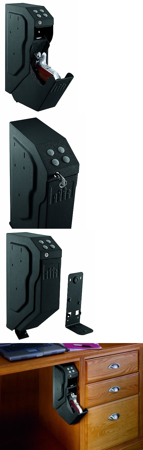 Cabinets and Safes 177877: New Handgun Safe Pistol Storage Safety Gun Vault Holder Case Firearms Security -> BUY IT NOW ONLY: $132.58 on eBay!