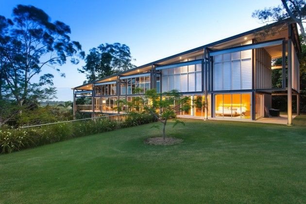 Byron Hinterland Residence by Tzannes Associates