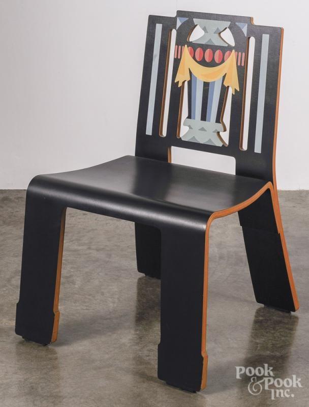 Venturi Knoll Sheraton chair. - Price Estimate: $1000 - $1500