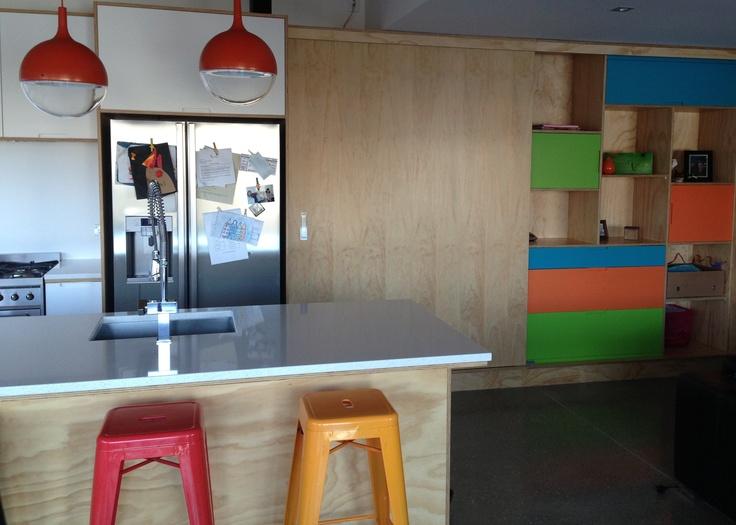 Plywood + colour