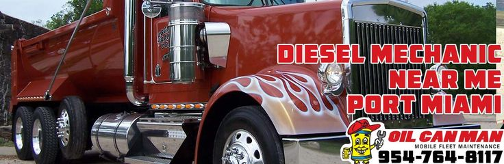 954-764-8117 Port Miami diesel mechanic near me business services. We service all diesel and commercial vehicles. Electricians and diesel mechanics. Also providing annual stickers on location. Call or request a quote.  http://oilcanman.com/diesel-mechanic-near-me-port-miami/   #PortMiamiDieselMechanicNearMe #DieselMechanicNearMePortMiami #PortMiamiDieselMechanicsNearMe #DieselMechanicsNearMePortMiami  Oil Can Man 954-764-8117 730 NW 7th St Fort Lauderdale, FL 33311 Repairs@OilCanMan.com…