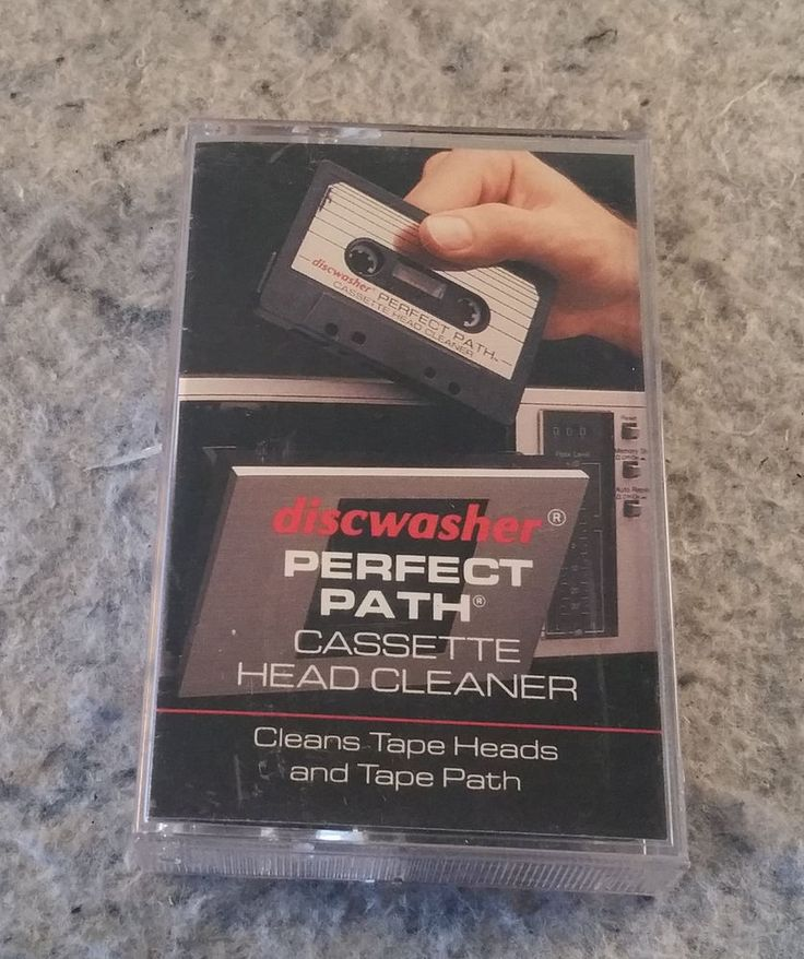 Discwasher Perrfect Path Cassette Tape Deck Head Cleaner - Used (C10B1)...... #Discwasher