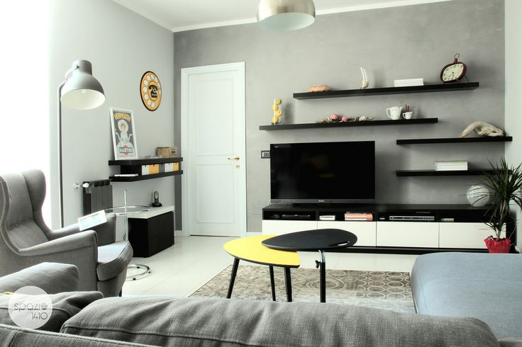 Parete TV #casa #interni #interior #design #home