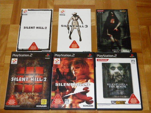 Silent Hill 2 3 4 Set Play Station 2 Japan Import Sony Na