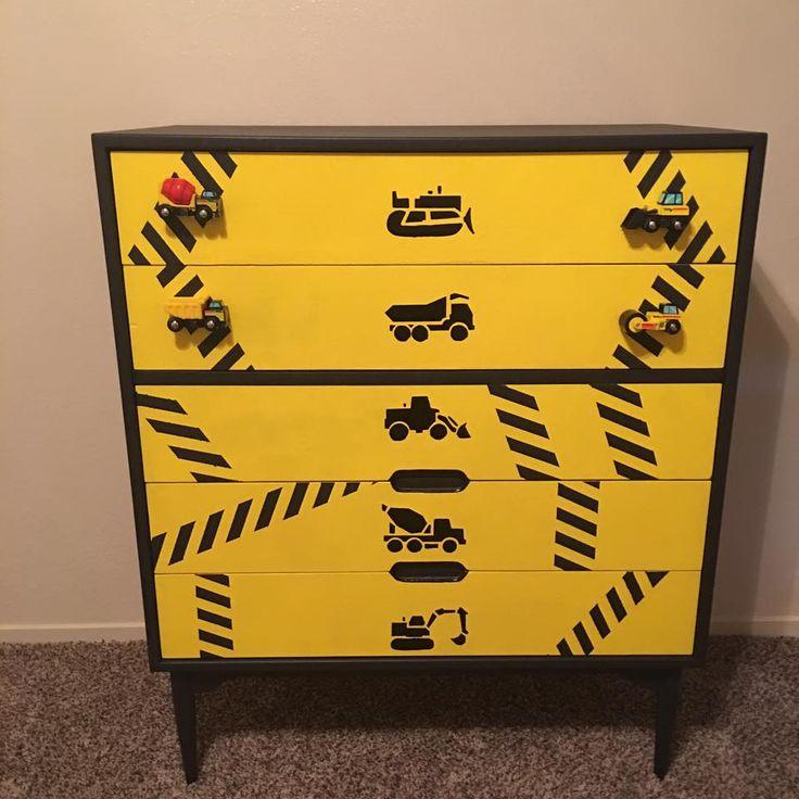 Construction theme dresser
