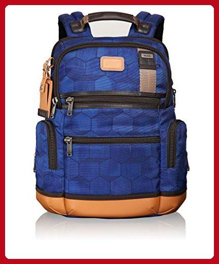 Tumi Alpha Bravo Knox Multipurpose Backpack, Blue Geo Print, One Size - Fun stuff and gift ideas (*Amazon Partner-Link)