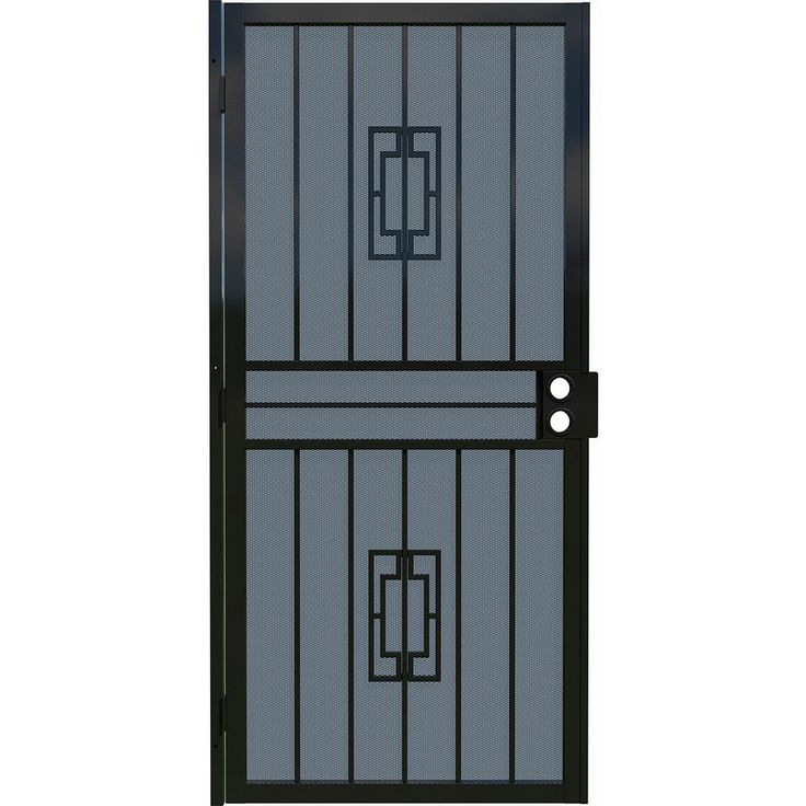 25 Best Ideas About Security Door On Pinterest Safe