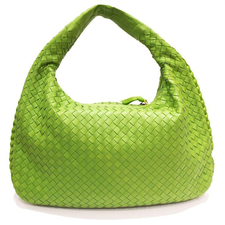 Bottega Veneta Green Maxi Hobo