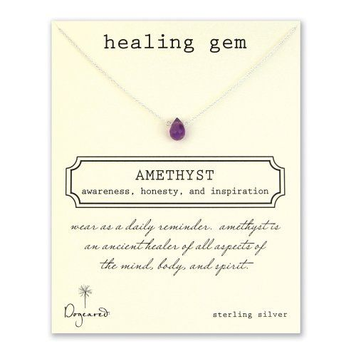 Dogeared Healing Gem Amethyst Necklace - Sterling Silver Dogeared Jewelry Co.,http://www.amazon.com/dp/B00BVRSPIU/ref=cm_sw_r_pi_dp_8o9Lrb52CEE54397