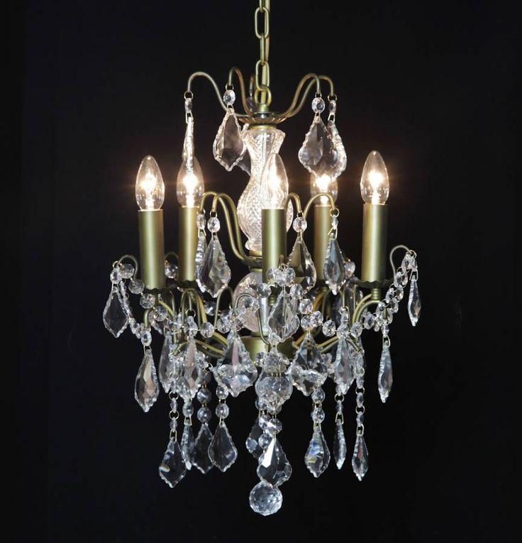 PetiteVersaille 5 branch chandelier