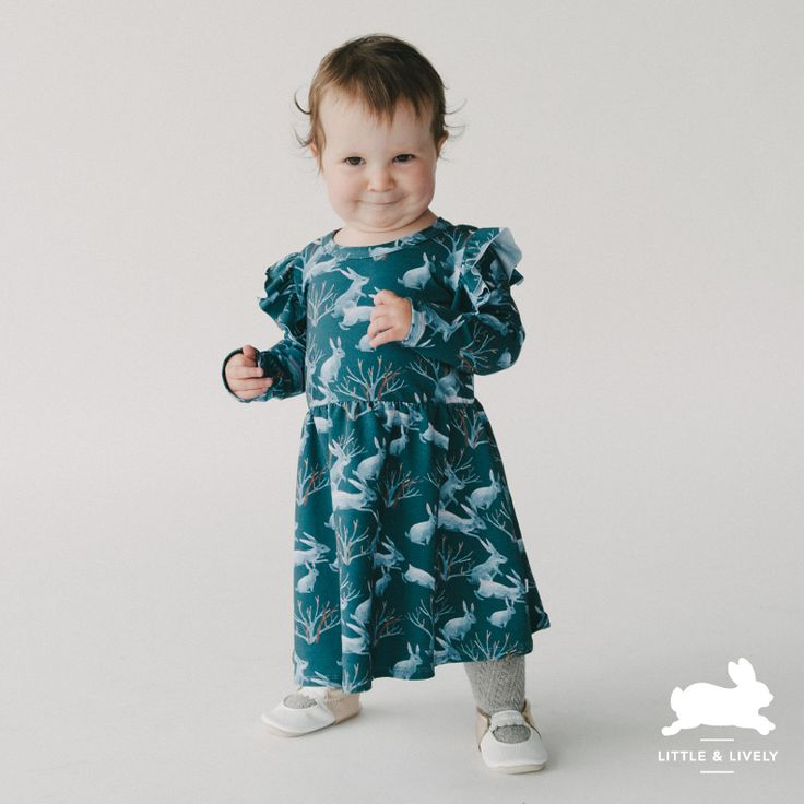 It's a little too early to talk about snow, but these Nordic bunnies are ready for chilly weather. Check them out on the new Harper dress with just enough twirl and ruffle for your darling littles.  . . . Photo by @jaymelang . . . #littleandlively #thekindredclothingco  #madeinabbotsford #downtownabbotsford #madeinabbotsfordbc #madeincanada #fraservalley #fraservalleyhandmade #fraservalleyliving #fraservalleymom #fraservalleybuzz #explorefraservalley #ethicalkidsfashion #ethicalkidsclothes…