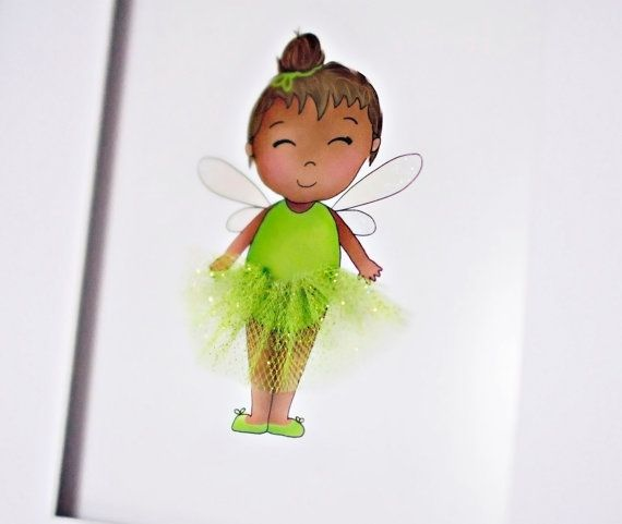 ♥ Little Fairy ♥ Children's 3D Art Print by Sweet Cheeks Images