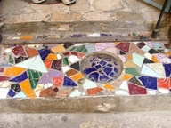 SBG is a huge mosaic maker and discovered getting even thickness of all the pieces was half the battle. How to make mosaics