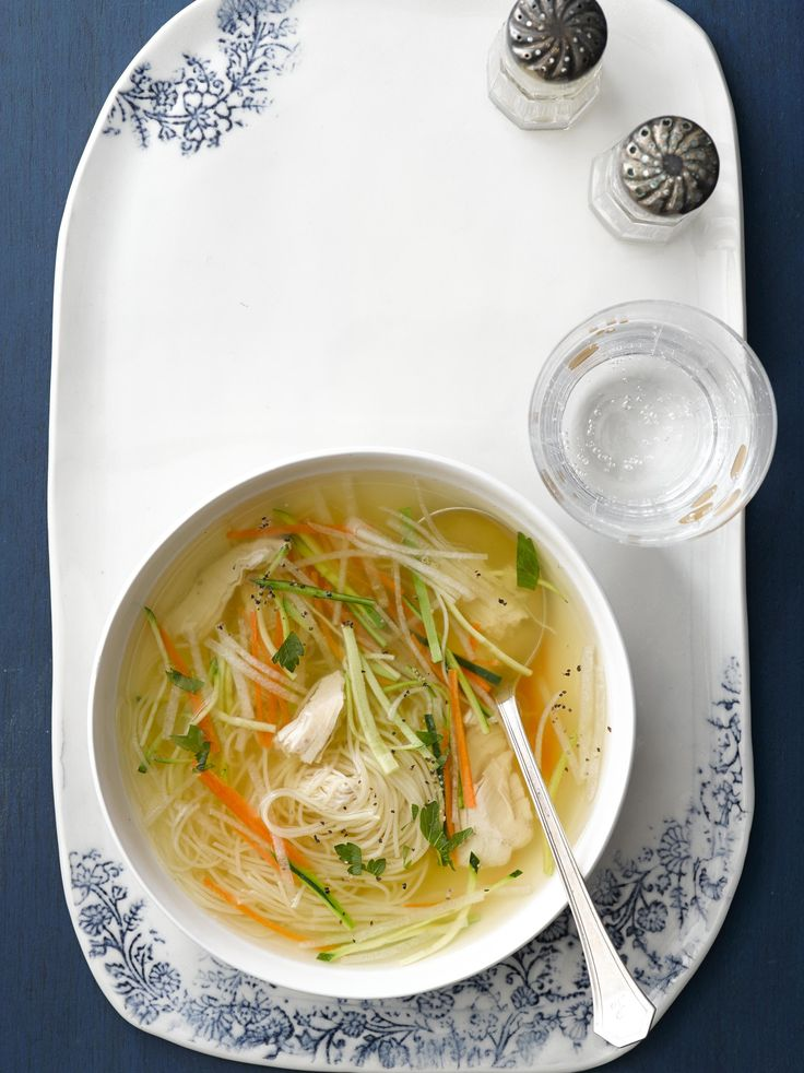 how to make clear chicken vegetable soup