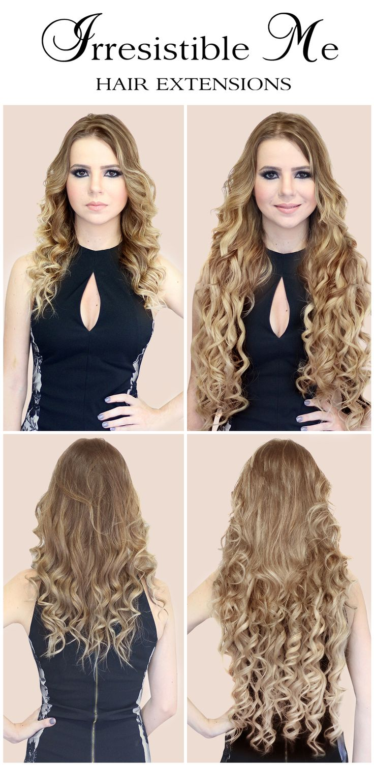 34 best hair extensions that look real images on pinterest make a dramatic hairstyle change with irresistible me human remy clip in hair extensions you can add instant length and volume to your hair by just pmusecretfo Choice Image