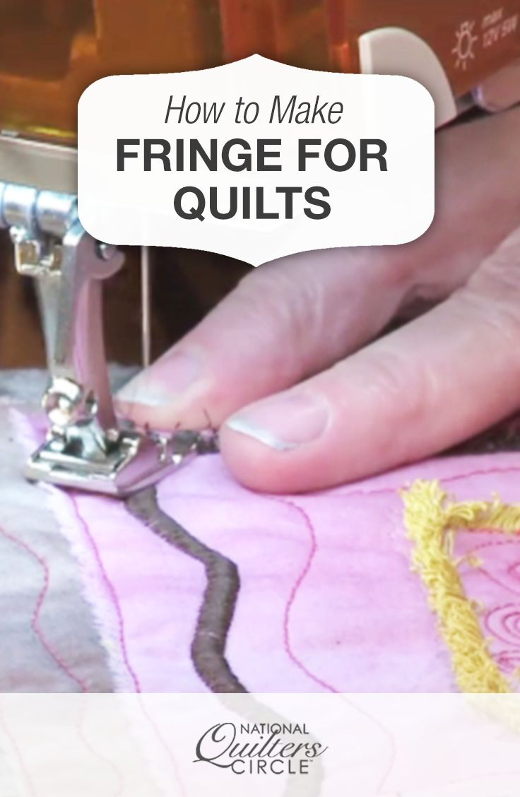 how to finish a quilt with a regular sewing machine