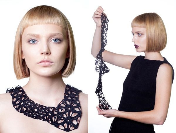 Nervous System. Biology inspired 3D printed jewelry.