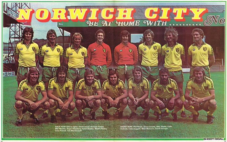 """#NorwichCity #Shoot! 1976-09-18"""