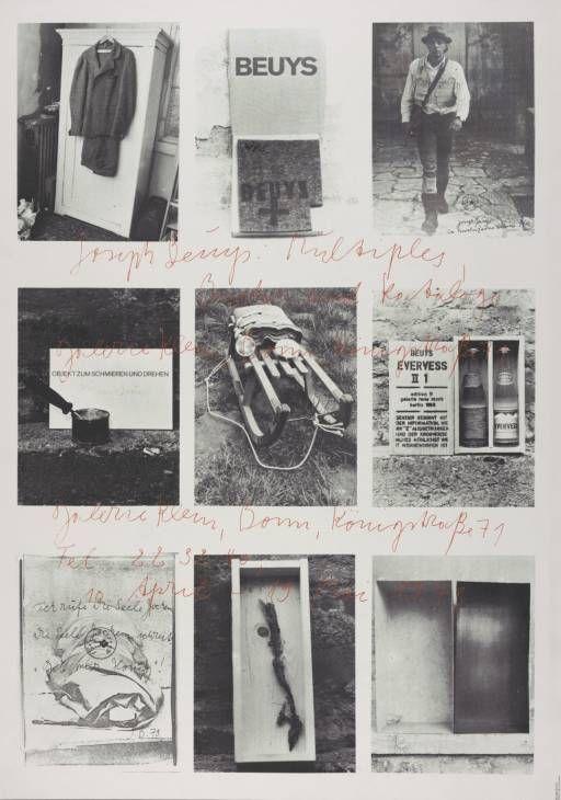 Joseph Beuys, 'Joseph Beuys. Multiples, Bücher und Katalogue' 1973