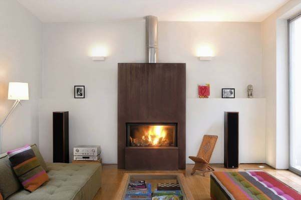 Modern Stand Alone Gas Fireplace Home Decoration Pinterest Fireplaces Modern And Gas