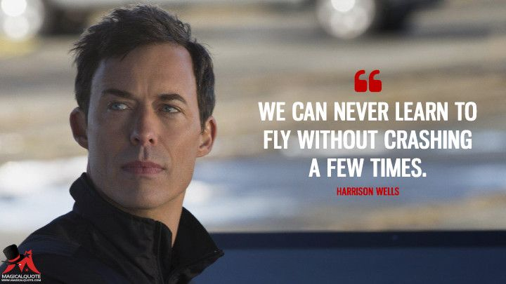The Flash Quotes We can never learn to fly without crashing a few times in 2019  The Flash Quotes