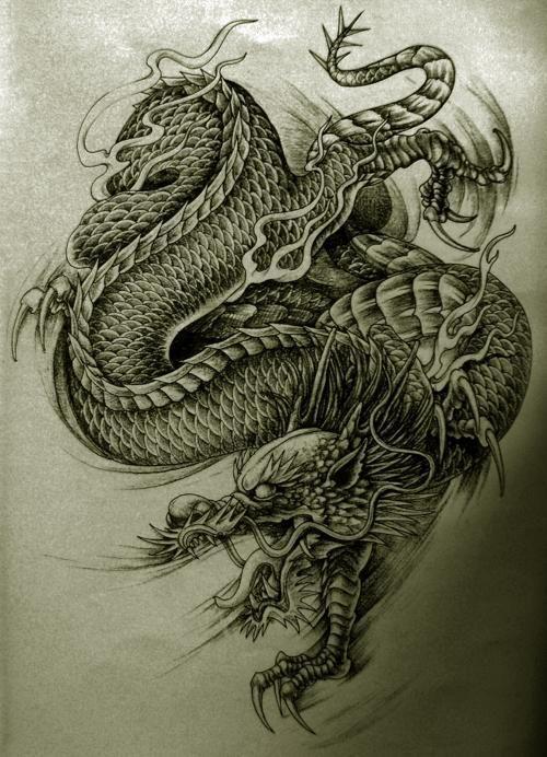 Korean Dragon Tattoo Meaning: 12 Best Blue Dragon Tattoo Images On Pinterest