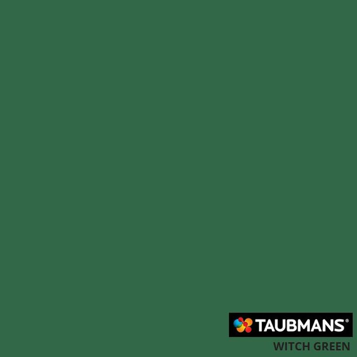 #Taubmanscolour #witchgreen