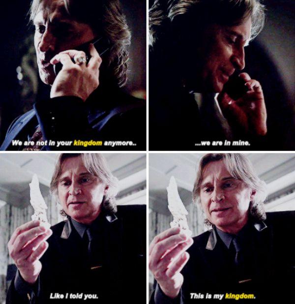 "Rumplestiltskin - 5 * 21 ""Last Rites"" this was so bad ass but I kinda hope Regina smacks him down with a ""no, it's not it's mine"""