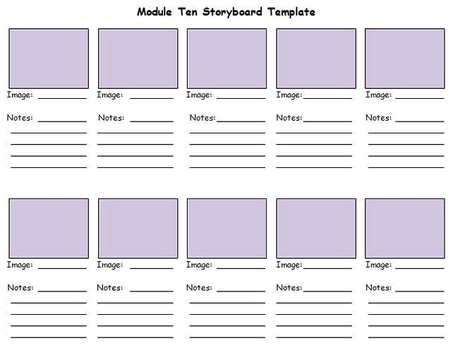 Best Storyboard Template Sample Storyboard Template Templates