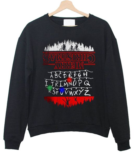 Stranger Things Light Up Ugly Christmas Sweatshirt In 2019 Famous