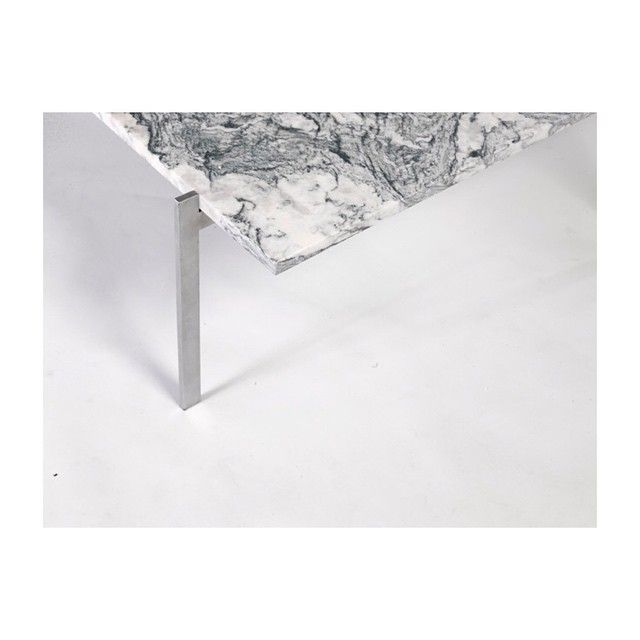 Detail Of Poul Kjaerholm Pk 61 Coffee Table Made By #IlGranito For  #ampersandhouse #