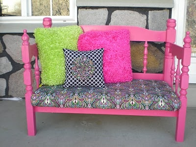 17 Best Images About Benches Out Of Old Headboards On