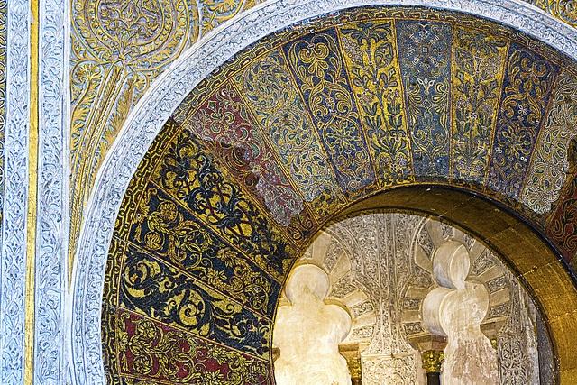 Mihrab Mezquita de Cordoba, Spain
