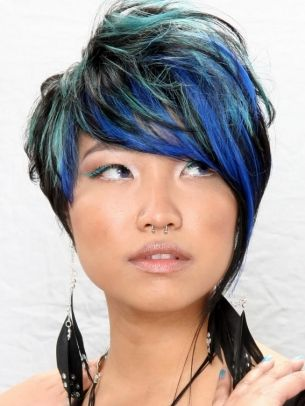 Vibrant Hair Color Ideas 2012 - Glam up your statement haircut with some of these vibrant hair color ideas 2012. Start by choosing a shade which suits your skin tone and personality. Don't be shy to flaunt your style chameleon ambitions.